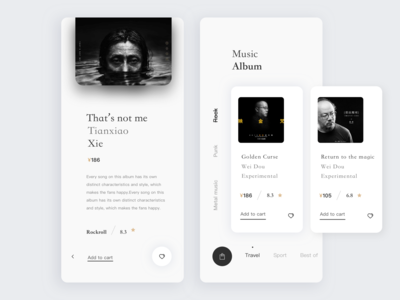 UI for Songs