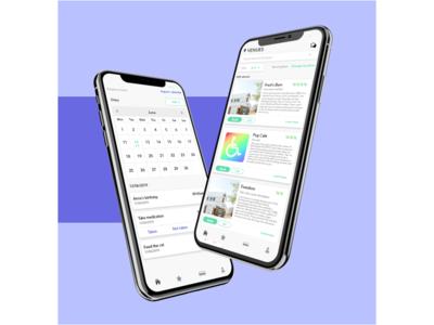 Venue and calendar app