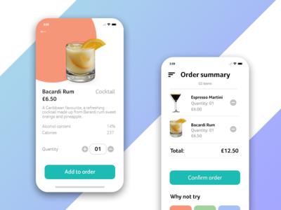 In-house ordering mobile app