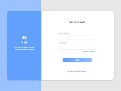 Sign Up - web app