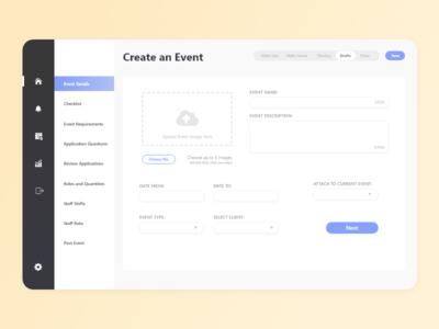 Event Planner - Web app