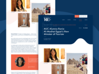 American University in Cairo: AUC100 - Editorial
