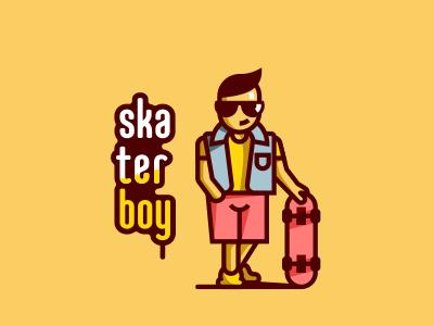Skater skateboard teenager guy boy board skate