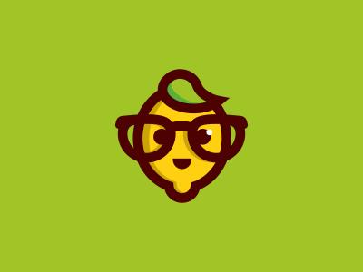 Lemon character citrus lime yellow lemon glasses