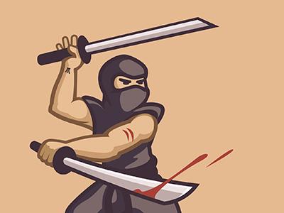 Ninja warrior ninja samurai