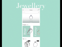 Jewellery e-commerce app