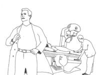 Doctor storyboard sketch