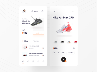 Shoe App Concept ❤ shopping app shop shopping store app store shoes store designs ui design mobile minimalist clean appdesign concept ui uidesign design minimal shoes app shoes