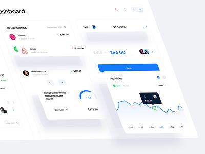 Finance Dashboard Design panel admin wallet dashboard wallet dashboard finance ui