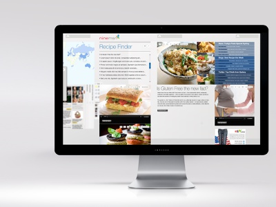 NINEMSN websites strategy user experience user interface design uiux ux ui userinterface