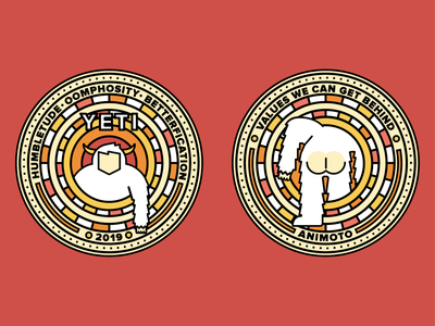 Heads/Tails Challenge Coin for YETI