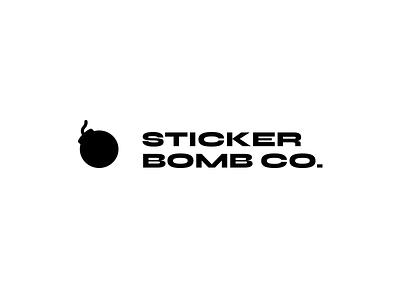 Logo — Sticker Bomb Co. typography stickers bomb brand type branding mark simple logo minimal