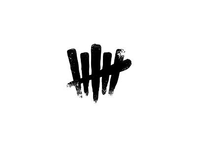 Devils Tally concept logo mark six 666 tally vi hail satan devil