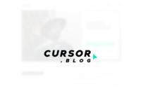 Cursor Blog - Landing Page