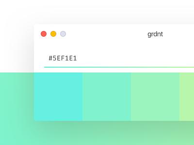 Grdnt - Landing Page ui web landing download tool design macos app step gradient