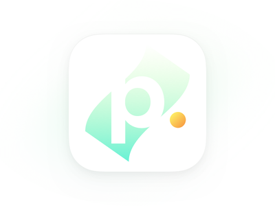 Paid App Icon Concept (Sold) finance finacial gradient concept bank coin dollar paid money color branding simple mark logo minimal app icon wip