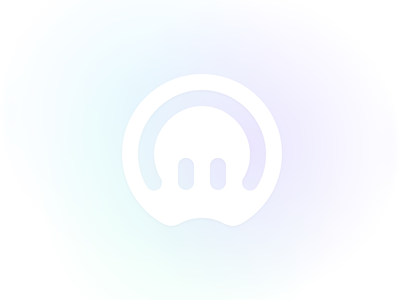 Octomain — Mark vector branding web gradient concept simple mark logo minimal