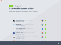 Custom Browser Rules for Bumpr