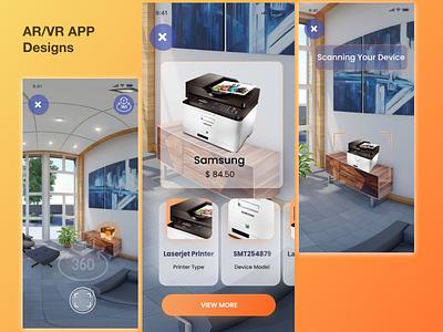 AR/VR App Design