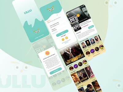 Video Streaming App mobile app design design sign login