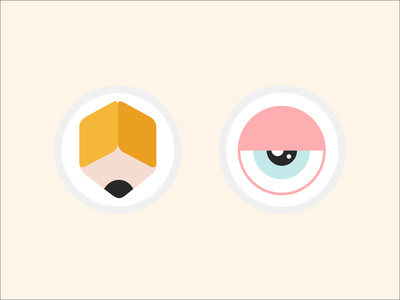 New Portfolio Icons ui icons clean flat colorful web