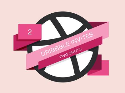 Dribbble Invite Giveaway dribbble invite invites clean flat logo
