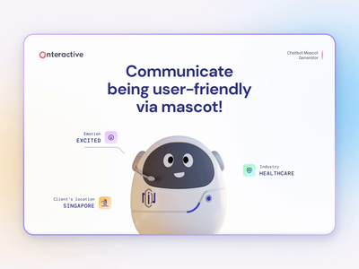 Friendly chatbot mascot design with feelings medical design mascot design mascot character healthcareit healthcare robots robot healthcare app e-commerce characterdesign character bot assistant ai mascot chatbot character design 3d