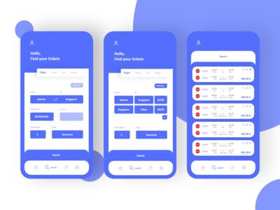 Travel ticket App