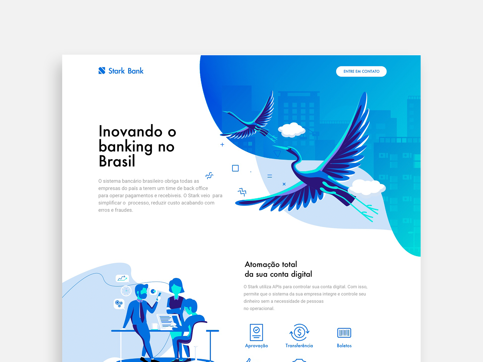 Strak Design Bank.Stark Bank By B E L W O N T On Dribbble