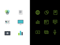 Variable icon sets for AvenueCX identity