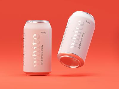 vodka energy packaging aluminum packaging graphicdesign 3dmodeling packagingdesign design packaging 3d