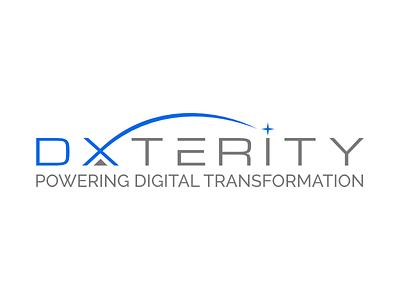 dxterity logo illustration branding letter vector design contest typogaphy letter mark letter logo contest logo logo design logodesign logotype logo