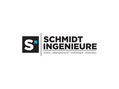 Schmidt Ingenieure typography letter mark letter logo letter vector design contest logo