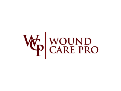 Wound Care Pro healthy health letter mark typography letter logo letter vector design contest logo