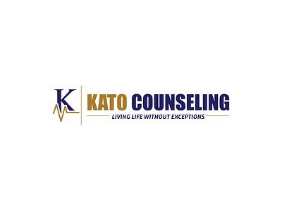 Kato Counseling typography letter mark letter logo letter vector design contest logo
