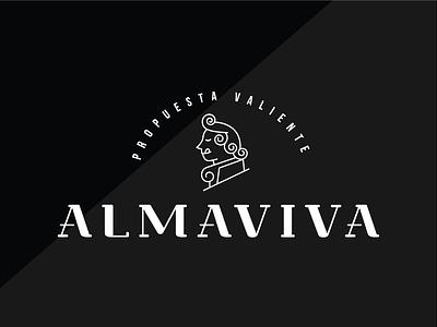 ALMAVIVA // restaurant in condado, puerto rico puertorico food branding restaurant brand logo