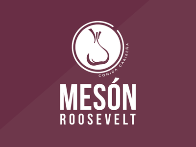 MESON ROOSEVELT // restaurant puertorico food branding restaurant brand logo