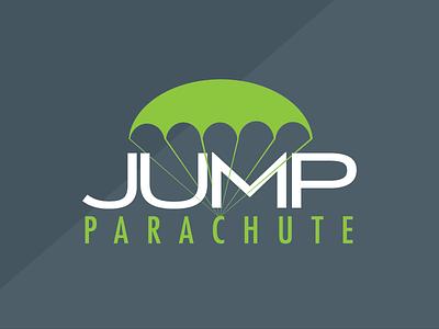 JUMP PARACHUTE // marketing company puertorico parachute branding marketing brand logo