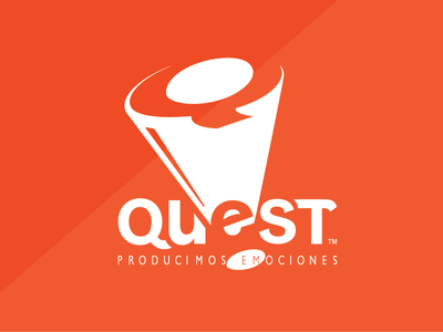 QUEST PDG // events & emocion producers puertorico events branding entertainment brand logo