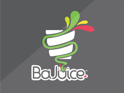 BAJUICE // sandwich + juice bar puertorico food branding restaurant brand logo