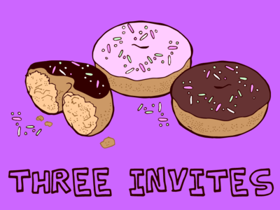 3 Dribbble Invites Available!