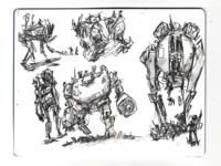 Sketchbook mechs