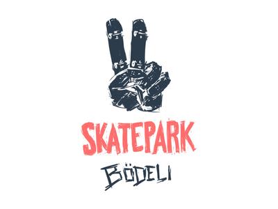 Skatepark Victory T-Shirt illustration digital painting skateboarding skatepark t-shirt tshirt
