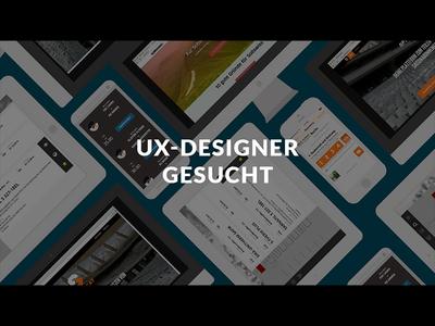 UX-Designer Job Advertisment