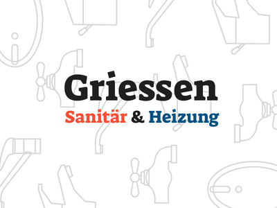 Griessen bright branding experiment blue red icons outline branding