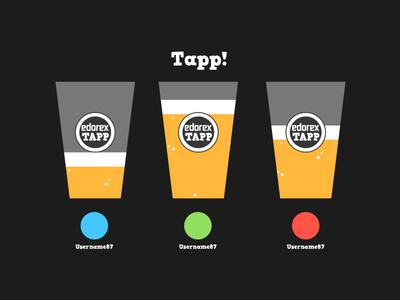 Beer-Game game-design ui screen game beer