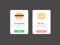 Daily UI Challenge 011 - Error/Success Flash Message