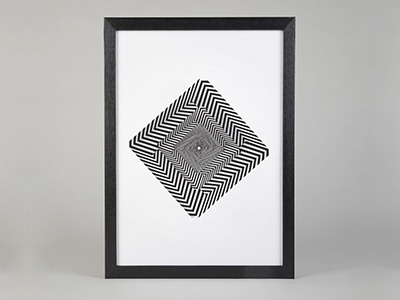 Vortex Art Poster art print decoration fashion print illustration kickstarter poster art