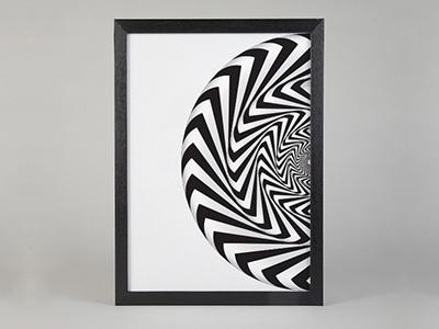 Vortex Art Poster art print decoration fashion print illustration kickstarter poster art