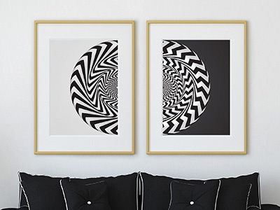 Vortex Art Prints art print decoration fashion print illustration kickstarter poster art